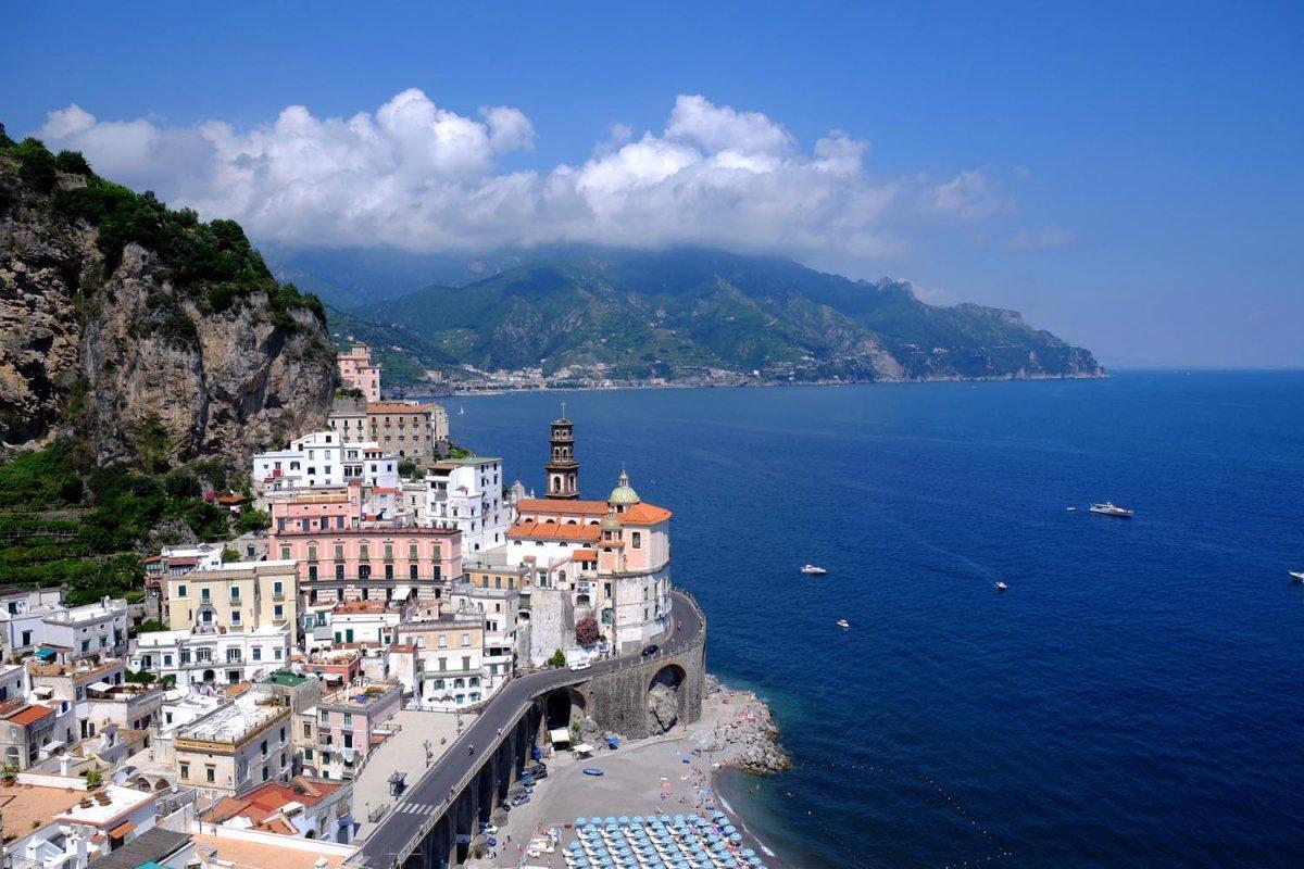 Atrani Salerno Costiera Amalfitana